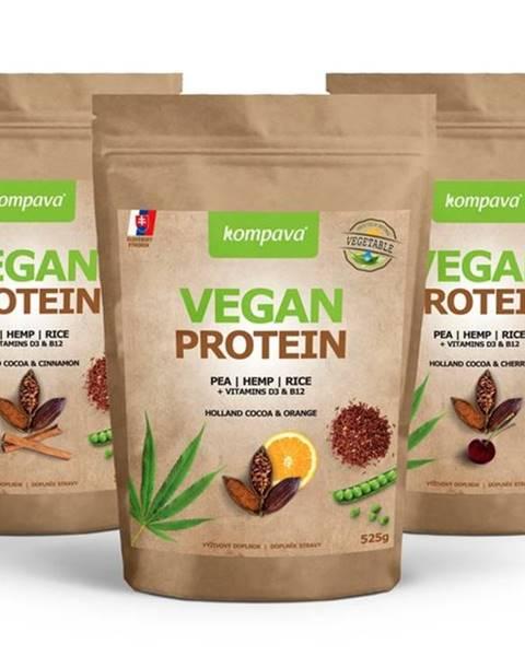 Kompava Vegan Protein - Kompava 525 g Holland Cocoa & Cherry