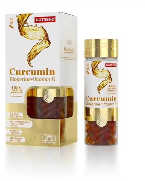 Nutrend Nutrend Curcumin + Bioperine + Vitamin D, 60 kapsúl