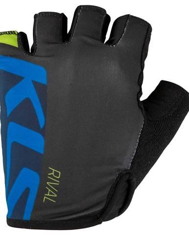 Cyklo rukavice Kellys Rival blue - M