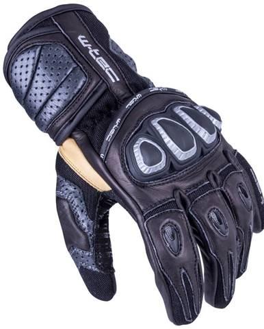 Pánske moto rukavice W-TEC Crushberg čierna - S