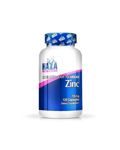 Haya Labs Zinc 15mg Hmotnost: 120 kapslí