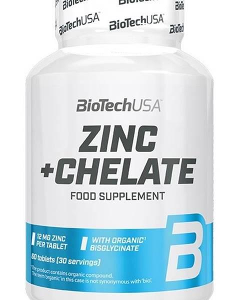Biotech USA Zinc+Chelate - Biotech USA 60 tbl.