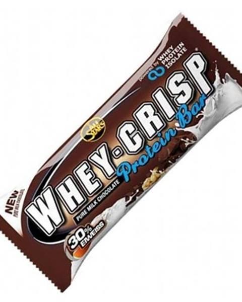All Stars All Stars Proteínová tyčinka Whey-Crisp 50 g biela čokoláda malina