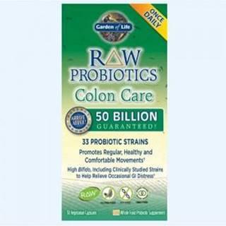 RAW Probiotika - péče o tlusté střevo - 50 miliard CFU