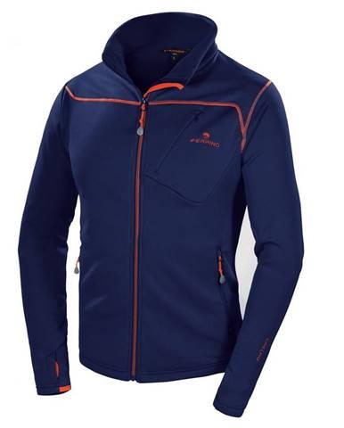 Pánska mikina Ferrino Tailly Jacket Man New Deep Blue - S