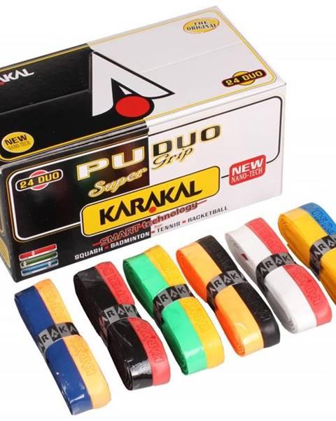 Karakal PU Super grip Duo twin základní omotávka mix barev Balení: 1 ks