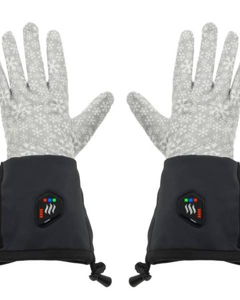Glovii Univerzálne vyhrievané rukavice Glovii GEG čierno-šedá - S-M