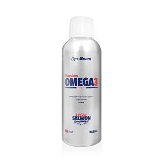 GymBeam Premium Omega 3 250 ml citrusové ovocie
