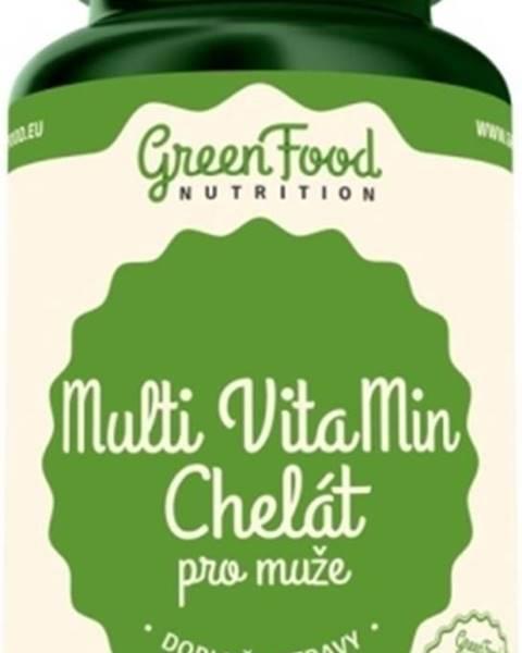 GreenFood GreenFood Multi Vitamin Chelát pre mužov 90 kapsúl