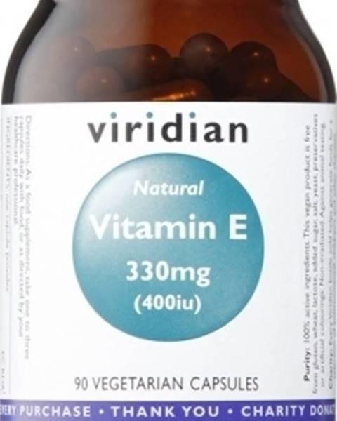 Viridian Viridian Vitamín E 330 mg 400 IU 90 kapsúl