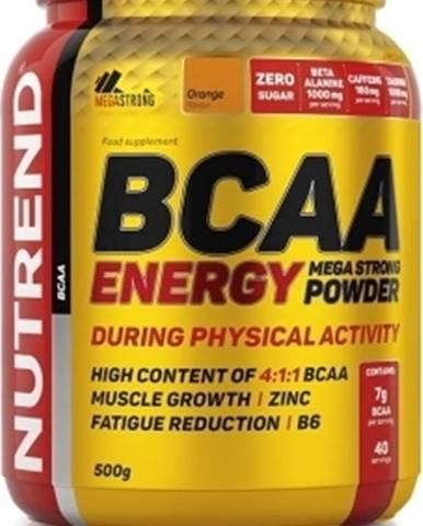 Nutrend BCAA Energy Mega Strong Powder 500 g variant: malina