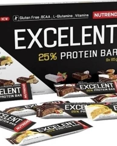 Nutrend Excelent Protein Bar darčekové balenie 9×85 g