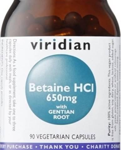 Viridian Betaín HCL 90 kapsúl