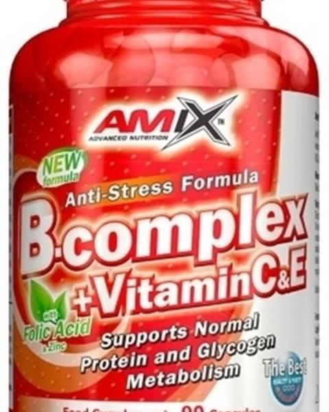 Amix Nutrition Amix B-Complex + Vitamín C 90 tabliet