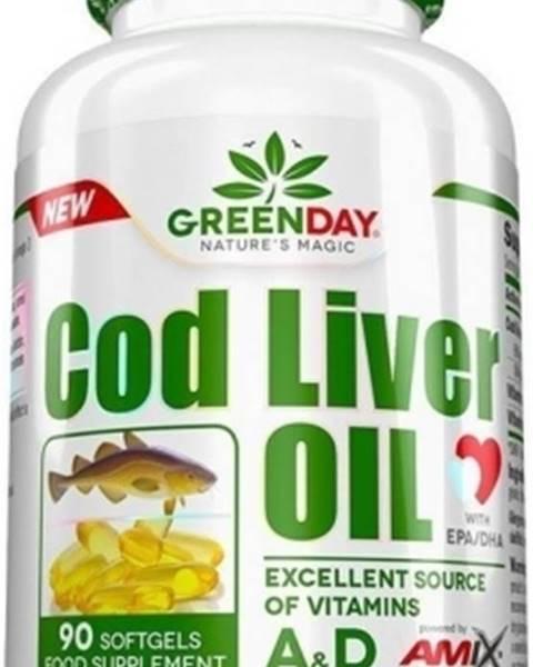 Amix Nutrition Amix Cod Liver Oil 90 kapsúl