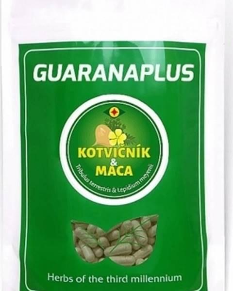 GuaranaPlus Guaranaplus Kotvičník + Maca Mix 50/50 XL balenie 400 kapsúl