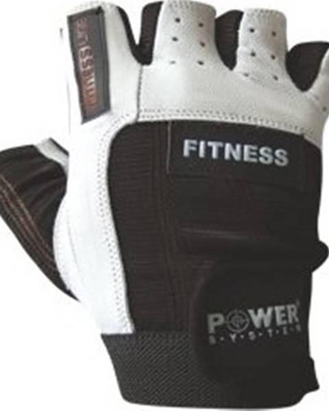 Power System Power System Fitness rukavice Fitness čiernobiele variant: L