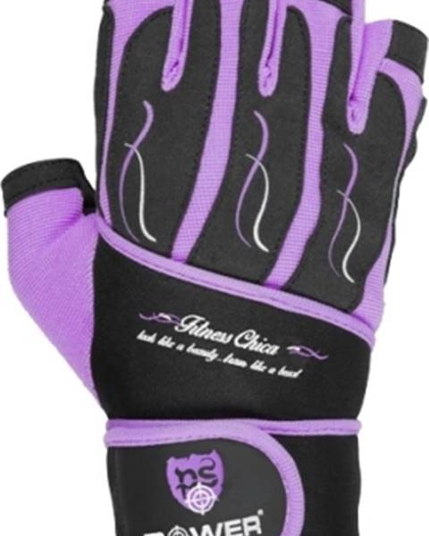 Power System Power System Women fitness rukavice Fitness Chica fialové variant: L