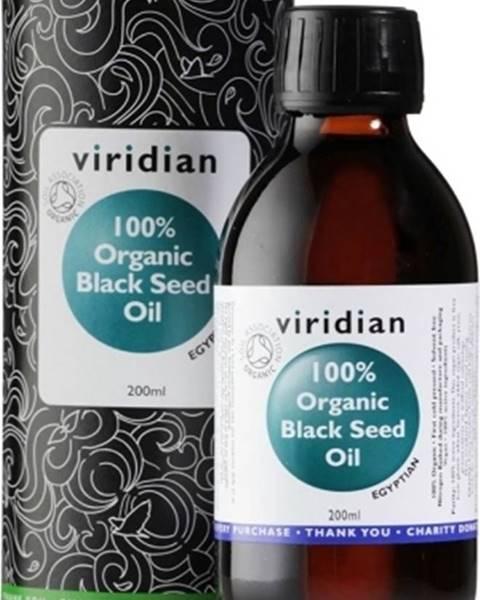 Viridian Viridian 100 % Organic Black Seed Oil 200 ml