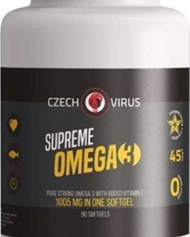 Czech Virus Supreme Omega 3 90 kapsúl