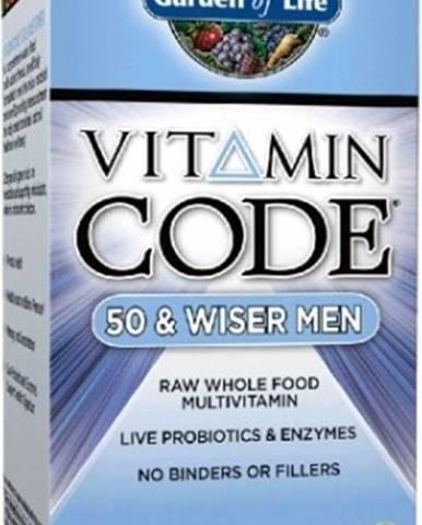 Garden Of Life Vitamín Code 50 - pre Mužov po Päťdesiatke 120 kapsúl