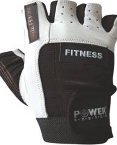 Power System Fitness rukavice Fitness čiernobiele variant: L