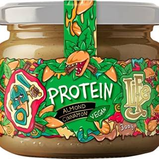 Lifelike Mandľový krém so škoricou a proteínom 300 g
