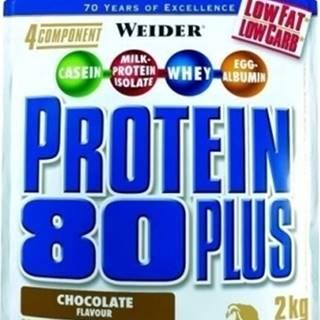 Weider Protein 80 Plus 2000 g variant: banán