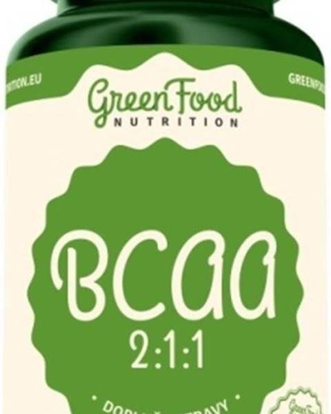 GreenFood GreenFood BCAA 2:1:1 120 kapsúl