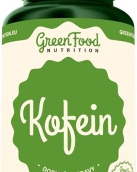 GreenFood GreenFood Kofeín vegan 60 kapsúl