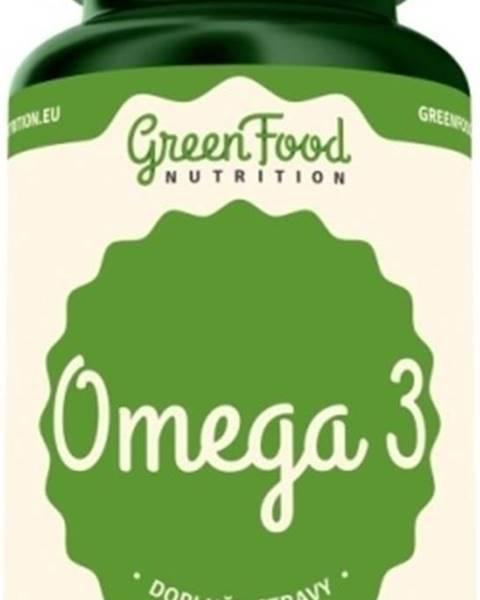 GreenFood GreenFood Omega 3 120 kapsúl