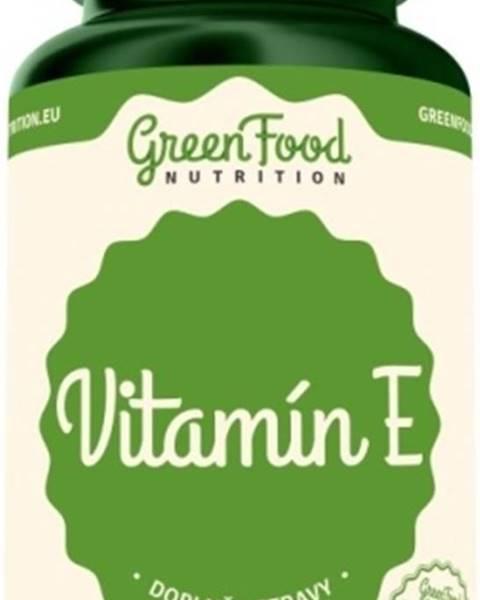 GreenFood GreenFood Vitamín E vegan 60 kapsúl