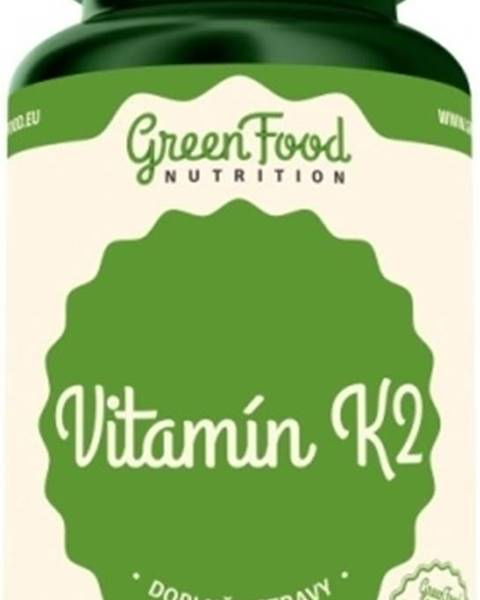 GreenFood GreenFood Vitamín K2 60 kapsúl