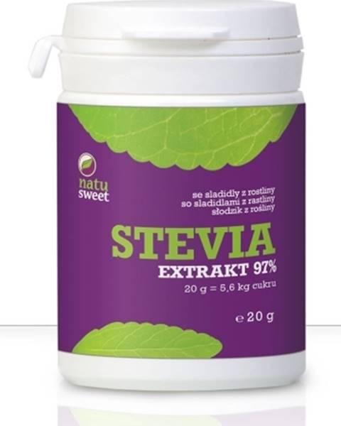 Natusweet natusweet Stevia Čistý Extrakt 97 % 20 g