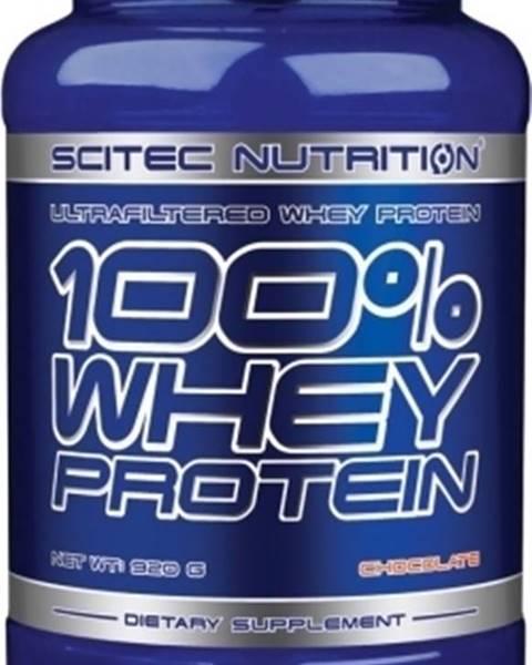 Scitec Nutrition Scitec Nutrition Scitec 100% Whey Protein 920 g variant: čokoláda