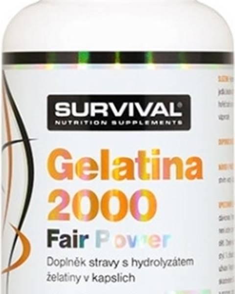 Survival Survival Gelatina 2000 Fair Power 150 kapsúl