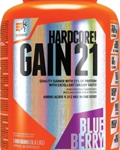 Extrifit Hardcore Gain 21 3000 g variant: čučoriedka