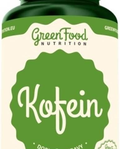 GreenFood Kofeín vegan 60 kapsúl