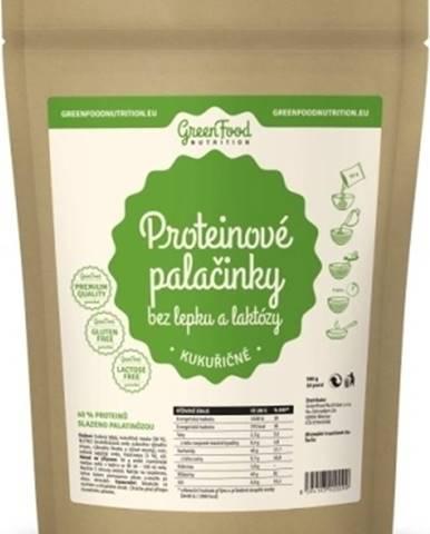 GreenFood Proteínové palacinky bez lepku a laktózy kukuričné 500 g