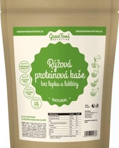 GreenFood Ryžová proteínová kaša bez lepku a laktózy 500 g variant: kakao