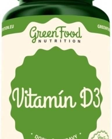 GreenFood Vitamín D3 vegan 60 kapsúl