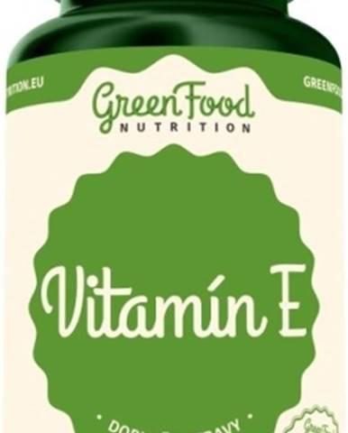 GreenFood Vitamín E vegan 60 kapsúl