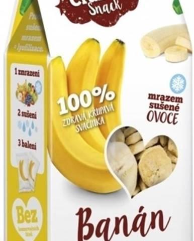Royal Pharma Crunchy Snack mrazom sušený Banán 30 g