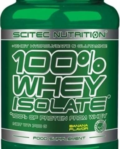 Scitec Nutrition Scitec 100% Whey Isolate 700 g variant: banán