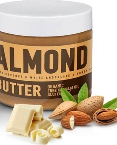 Sizeandsymmetry Mandľové Maslo s Bielou Čokoládou, Kokosom a Medom 500 g