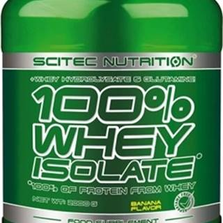 Scitec Nutrition Scitec 100% Whey Isolate 2000 g variant: banán