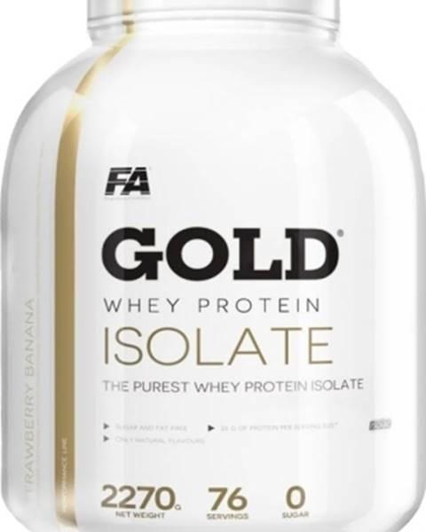 Fitness Authority Fitness Authority Gold Whey Protein Isolate 2270 g variant: čokoláda