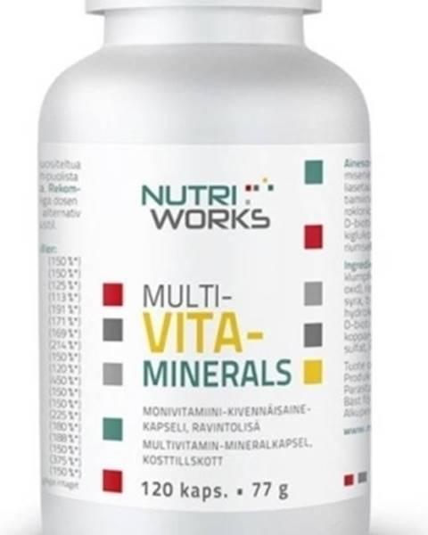 NutriWorks Nutriworks Multivitaminerals 120 kapsúl