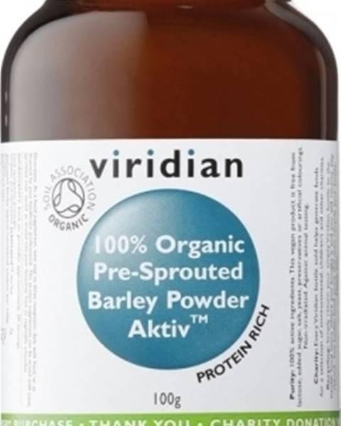 Viridian Viridian BIO 100 % Organic Activated Barley Powder 100 g