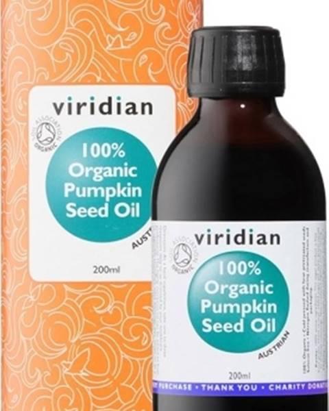 Viridian Viridian Pumpkin Seed Oil Organic (Olej z tekvicových semienok Bio) 200 ml